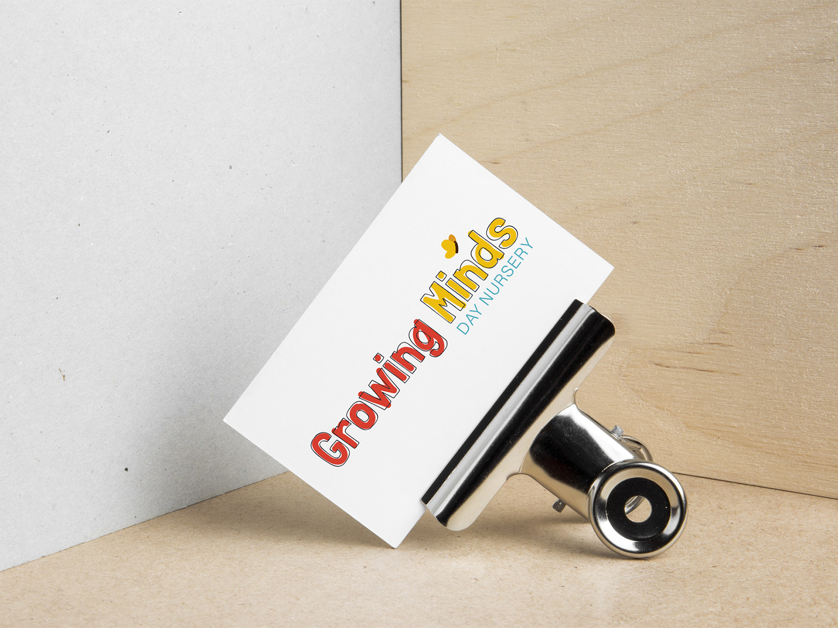 Logo design for Growing Minds Day Nursery