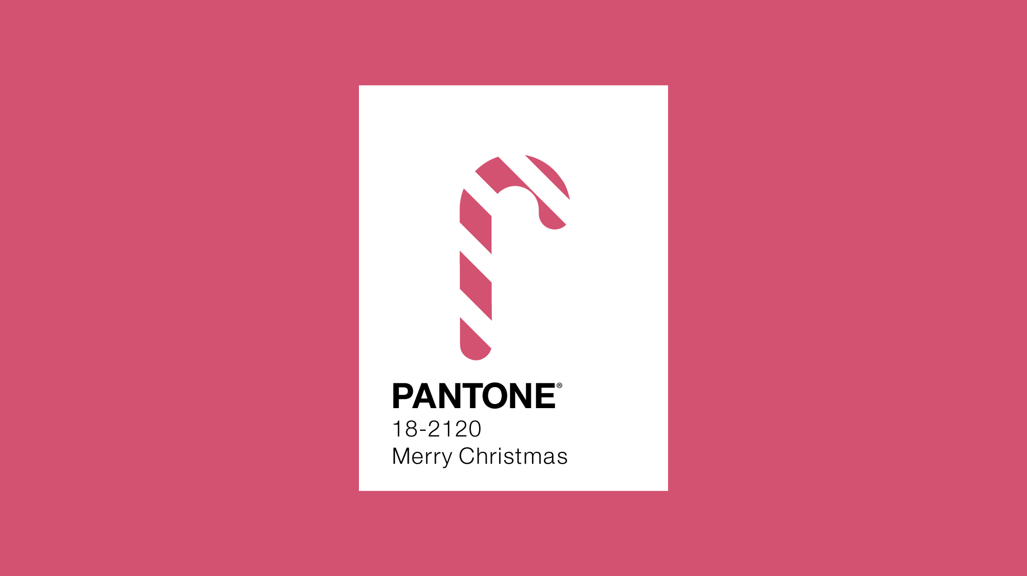 Pantone colour of the year 2011 minimal design with candy