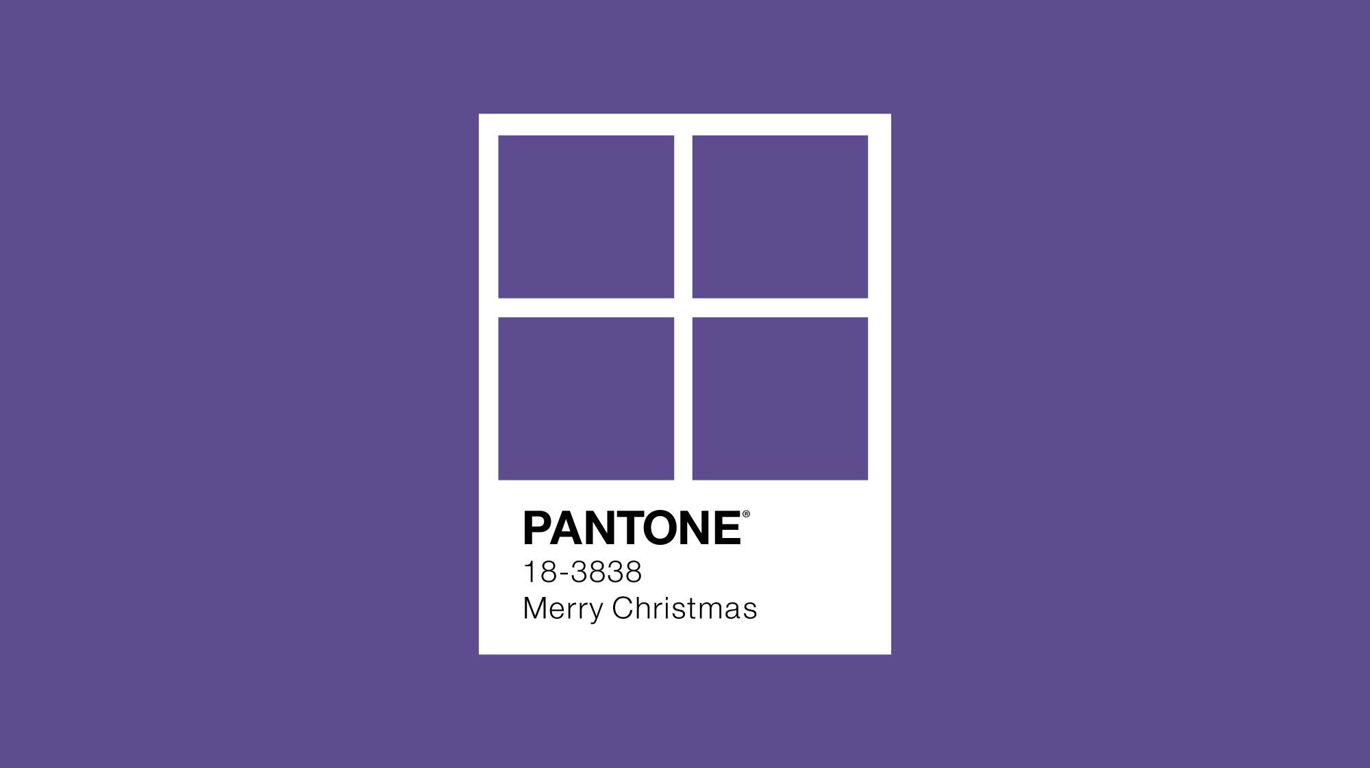 Pantone colour of the year 2018 minimal design with window frame