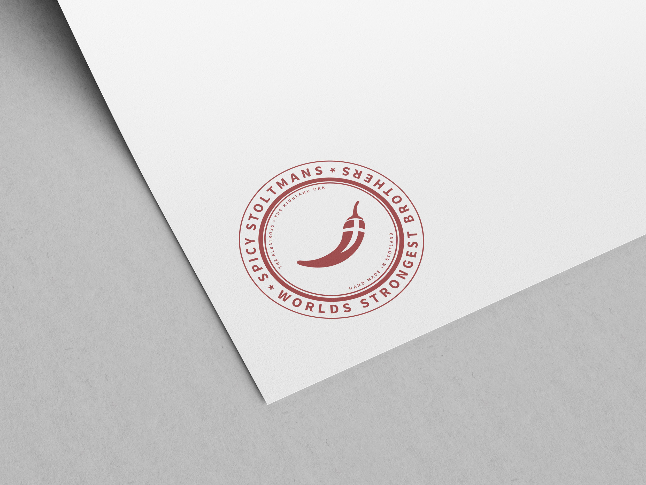 Spicy Stoltman Logo Design