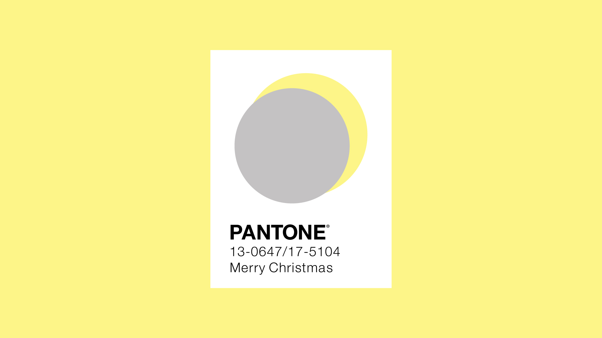 Pantone colour of the year 2019 minimal design with sun and moon